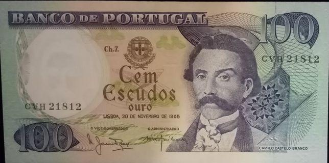 Nota Capicua 100 escudos