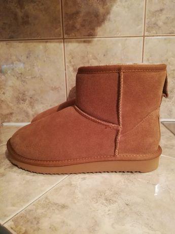 BLK 1978 damskie zimowe buty z owczej skóry