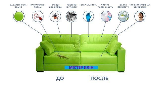 Химчистка: мягкой мебели, матрасов, ковров, детских колясок, АВТО.