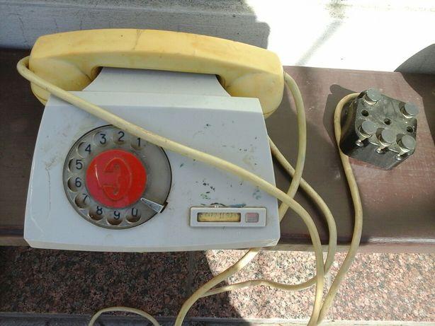 Телефон П-170э в рабочем состоянии 2 шт.