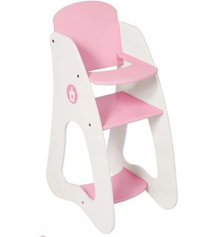Krzesełko dla lalek Bayer Princess World krzesło karmidło