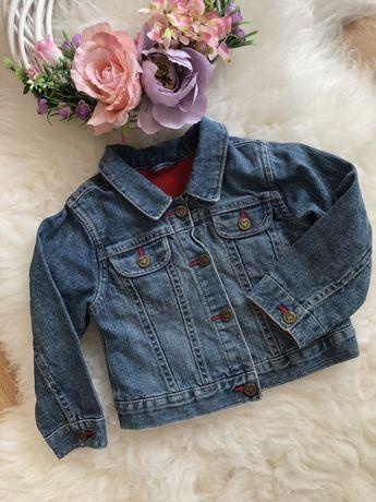 Kurtka jeansowa dżinsowa dziewczynka 92 cm George