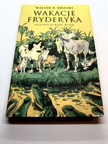 #ASH: Książka: Wakacje Fryderyka. Walter R.Bross.