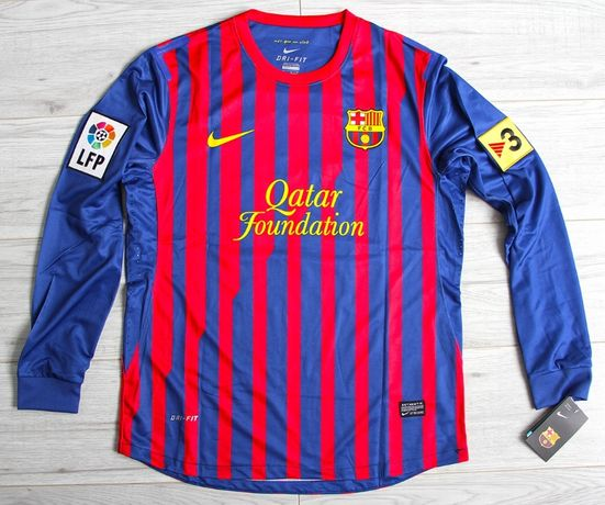 FC BARCELONA Retro Home 10/11 NIKE #10 Messi, roz. L