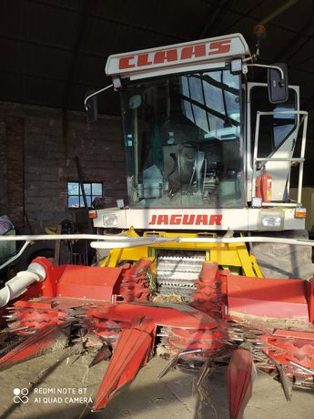 Claas Jaguar 682 s + kemper Champion 330