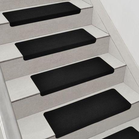 Nakładki na schody gumowe samoprzylepne antypoślizgowe, nowe. 5 sztuk.
