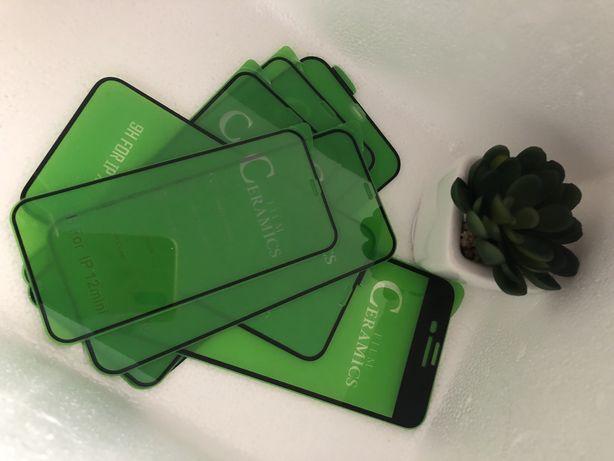 Керамічне скло , Ceramics glass iPhone до всіх моделей 6,7,8,X,11,12
