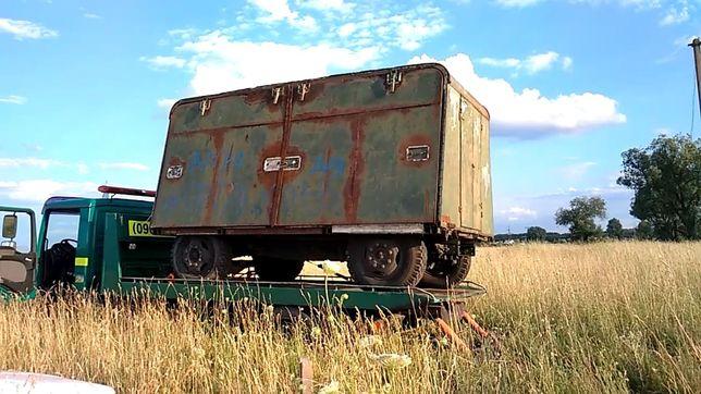 Кунг вагончик бытовка дача на колесах