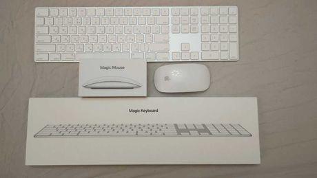 Клавиатура Magic Keyboard A1843 кириллица + magic mouse 2
