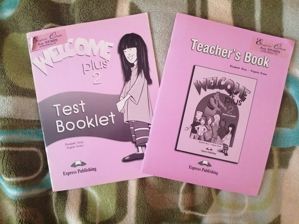 Набор test booklet + teacher's book Welcome 2