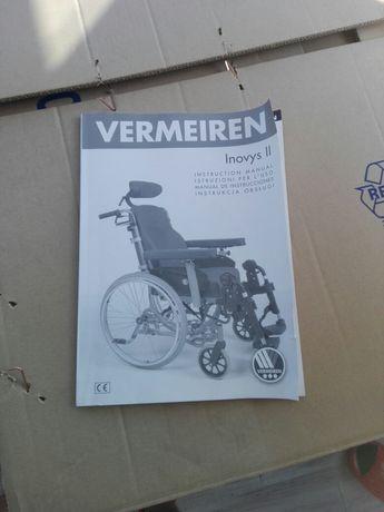 Vermeiren Inovys II. Nowy wózek inwalidzki. Specjalistyczny.