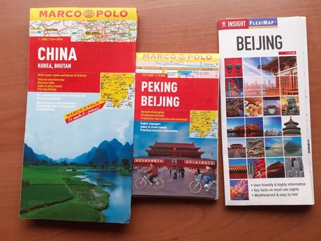 Mapy Beijing , Chin ,Korea ,Bhutan.