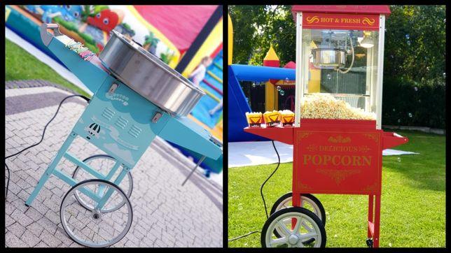 Maszyna do popcornu i waty cukrowej  WYNAJEM Popcorn WATA