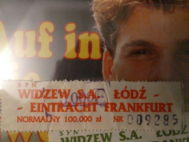 Bilet Widzew - Eintracht