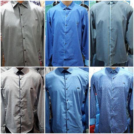 Мужские рубашки.S, M, L, XL,2XL,3XL,4XL, 5XL,6XL. Турция.