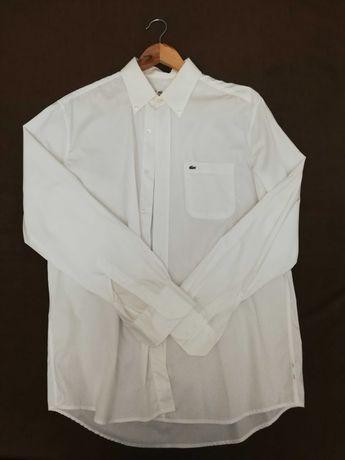 Camisa Branca Lacoste original Tam 42