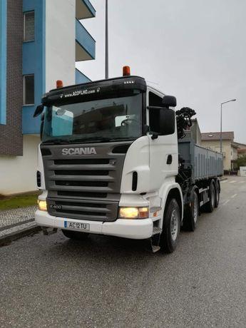 Camião Scania R400 c/ grua - Baixa de Preço