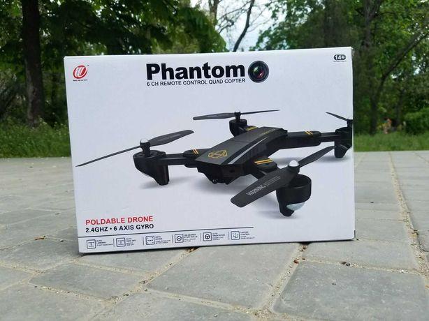 Автовозврат квадрокоптер Phantom с WiFi и камерой. Дрон 25 минут полет