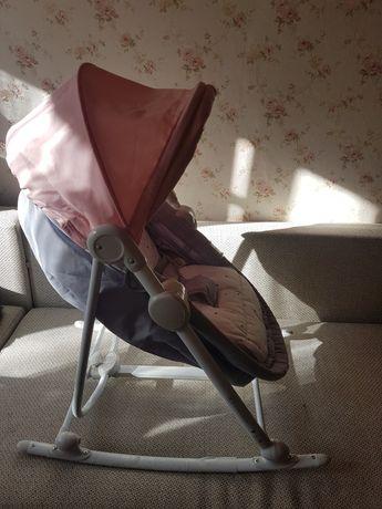 Leżaczek bujaczek siedzisko fotelik