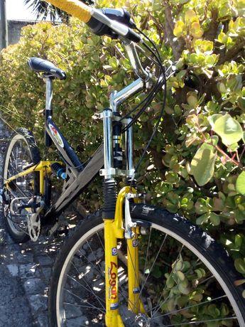 Bicicleta Dupla Suspensão e artigos