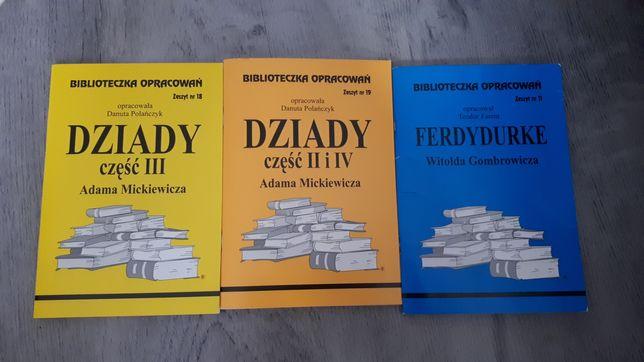 Opracowania Dziady Ferdydurke