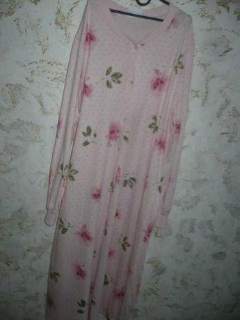 Ночная рубашка Сорочка женская 46-48р. 100% хлопок