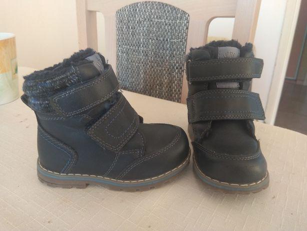 Buty chłopięce  Cool Club granatowe zimowe