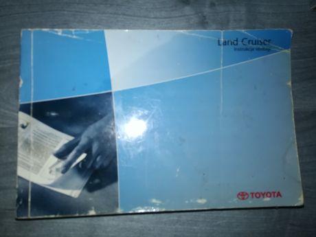 Toyota Land Cruiser instrukcja obsługi PL