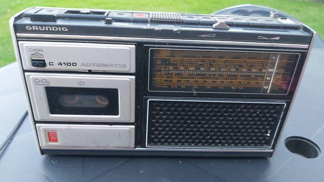 Grundig radiomagnetofon oryginalny okazja