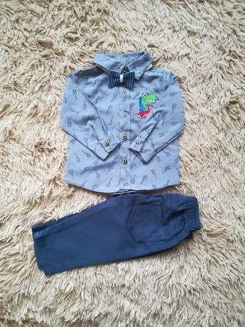 Святковий костюм(рубашка, штани) 68,74,86 см, 6, 9, 18 мiс, 1,2 роки