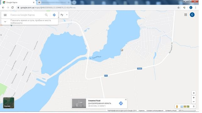 "Дача на берегу реки в кооперативе ""Саксагань"""