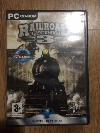 Jogo pc Railroad Tycoon 3