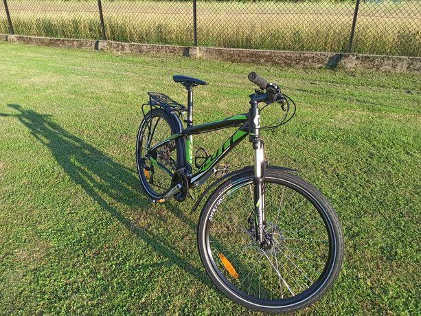 Rower Scott Aspect 670 czarno-zielony rama S