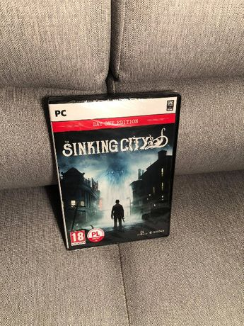 Nowa gra PC Sinking City Day One Edition folia