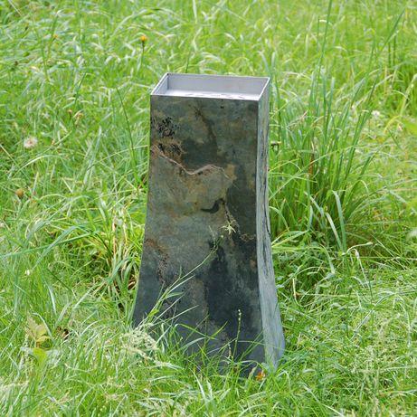 Biokominek ogrodowy tarasowy stojący
