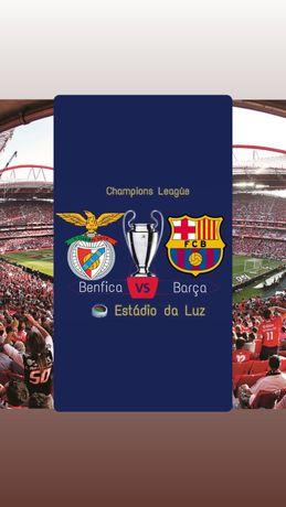 Bilhetes Benfica vs Barcelona