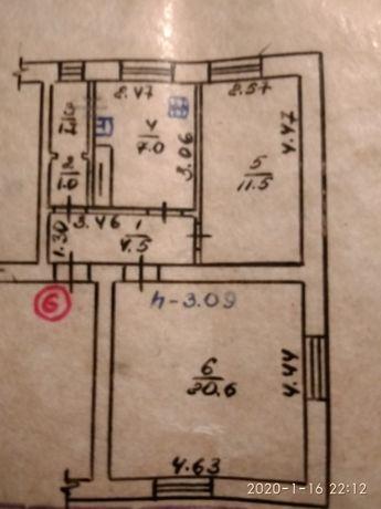 Продам 2-х комнатную квартиру по цене однокомнатной
