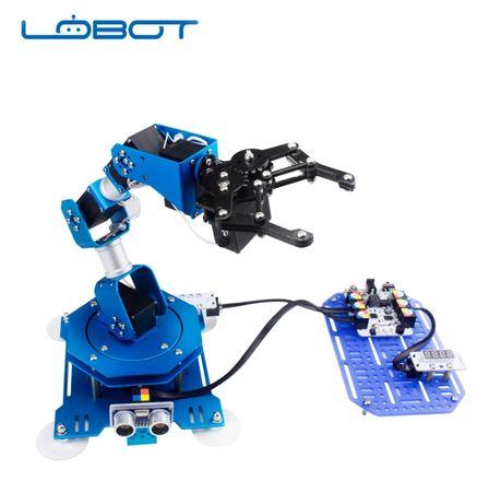 Навчальний 6-осьовий робот-маніпулятор Hiwonder LOBOT xArm з датчиками