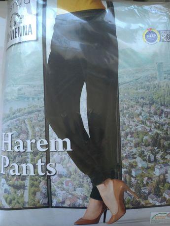 Nowe spodnie z metką haremki z polaru Esmara