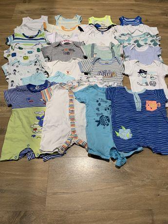 Letnie ubranka dla chłopca 56-62