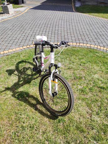 Rower Storm Belle 24 - Biało-Różowy