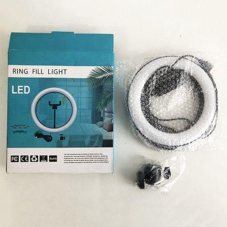 Кольцевая лампа 16 см, лампа для селфи, лампа для блогера, лампа usb