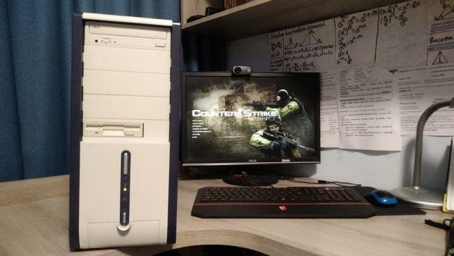 Компьютер для работы, 775 сокет,core 2 duo, 2Gb озу
