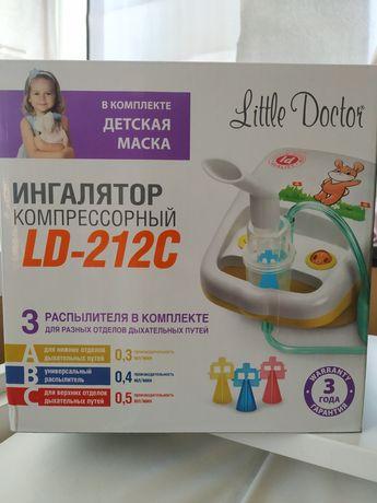 Ингалятор компрессорный Little Doctor LD-212C НОВЫЙ !!