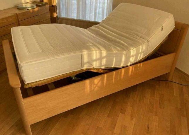 Łóżko Elektryczne Rehabilitacyjne z Super Materacem 100/200