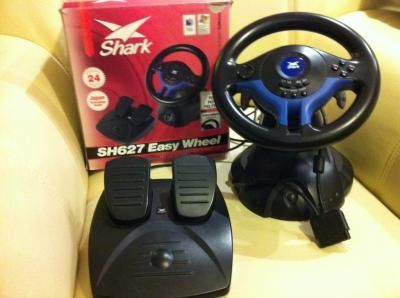 Kierownica SHARK SH627 do PC PSX PS2 PS3