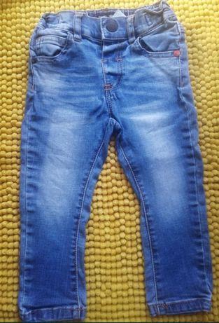 Spodnie Next rurki 86