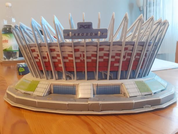 Stadion Narodowy puzzle 3d
