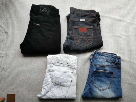 Spodnie dziewczęce 34