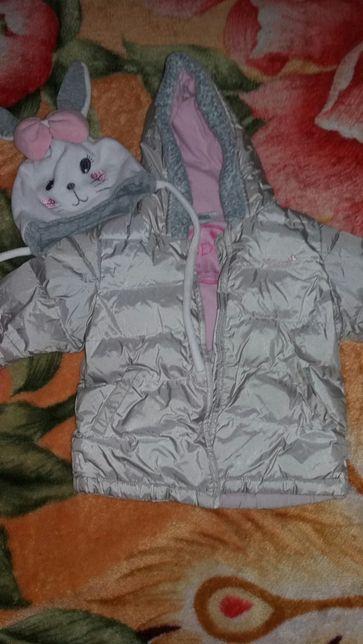Куртка некст на девочку 1-1.5